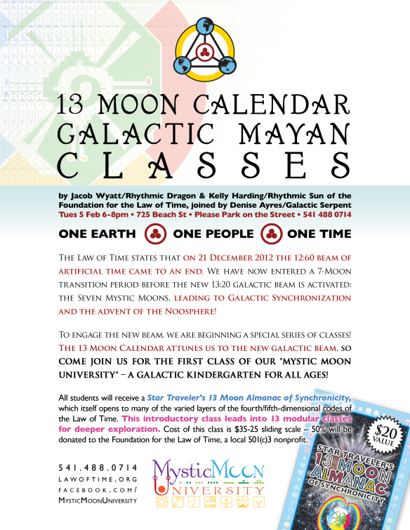 13 Moon Calendar Classes