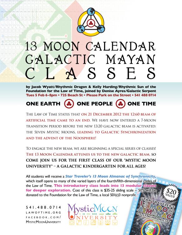 13 Moon Calendar Classes